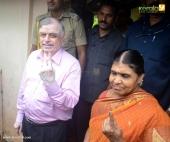celebrities at kerala election 2016 photos 098 006