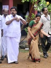 vs sivakumar family at kerala election 2016 photos 098 013
