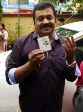 suresh gopi at kerala election 2016 photos 098 014
