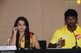 trisha krishnan at chennai rhinos team 2014 press meet photos 007