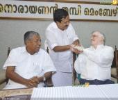 p sathasivam at chief minister pinarayi vijayan iftar party photos 180 004