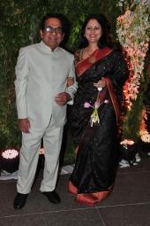 chiranjeevi daughter sreeja wedding reception stills 324 002