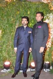 ram charan at sreeja wedding reception photos 100