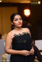 rajisha vijayan at cinematographer anend wedding reception photos 009