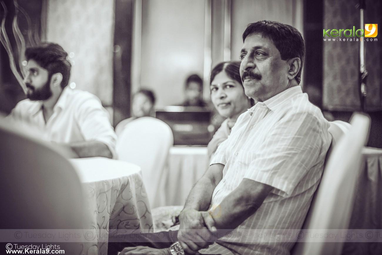 sreenivasan at son dhyan sreenivasan engagement photos  004