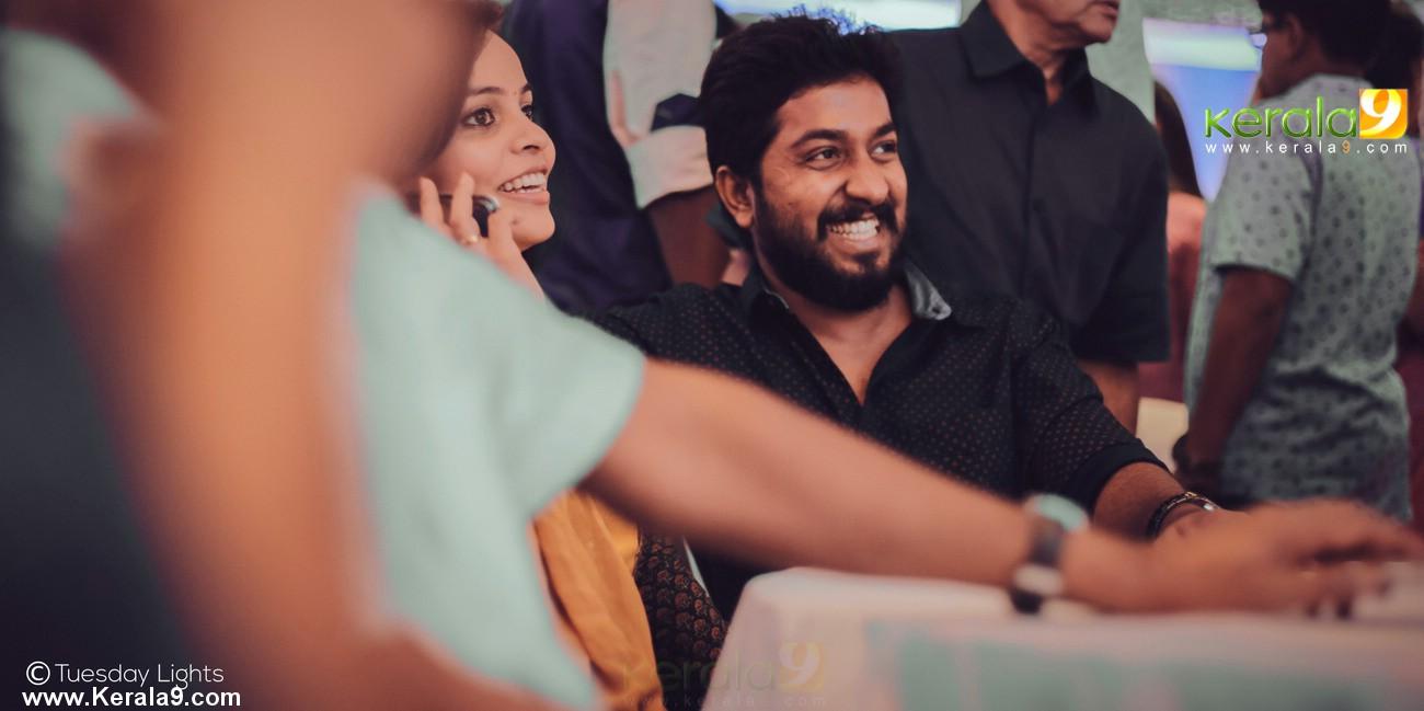 dhyan sreenivasan arpitha engagement photos  00