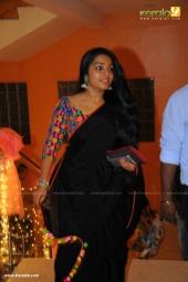 rajisha vijayan at  dhyan sreenivasan reception in photos 226
