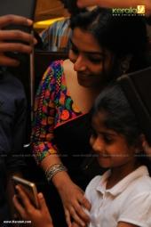 rajisha vijayan at  dhyan sreenivasan reception in photos 229