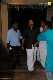 celebrities at  dhyan sreenivasan reception in photos 105