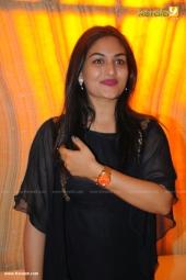 prayaga martin at  dhyan sreenivasan reception in photos 178