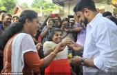 dileep at poojappura ayurveda hospital pics 147 005