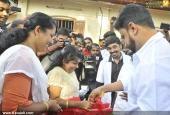 dileep at poojappura ayurveda hospital pics 147 017