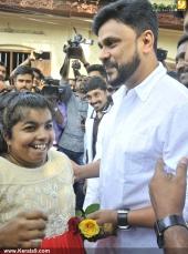 dileep at poojappura ayurveda hospital pics 147 01