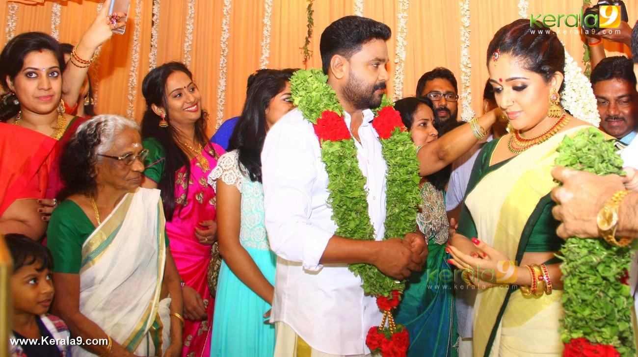 dileep and kavya madhavan marriage photos