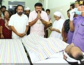 jayaram at director j sasikumar funeral photo