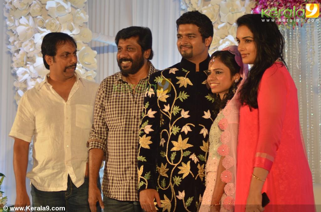 Director Siddique Daughter Sara Marriage Reception Photos - Kerala9 com