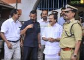 dulquar salman at poojappura central jail photos 100 001