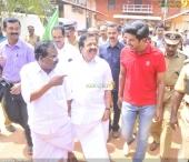 dulquar salman at poojappura central jail photos 100 006