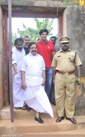 dulquar salman at poojappura central jail photos 100 011