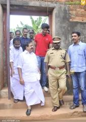 dulquar salman at poojappura central jail photos 100 012