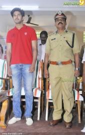 dulquar salman at poojappura central jail photos 100 017