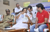 dulquar salman at poojappura central jail photos 100 026