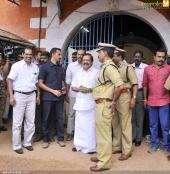 dulquar salman at poojappura central jail photos 100