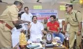 dulquar salman at poojappura central prison photos 300 006