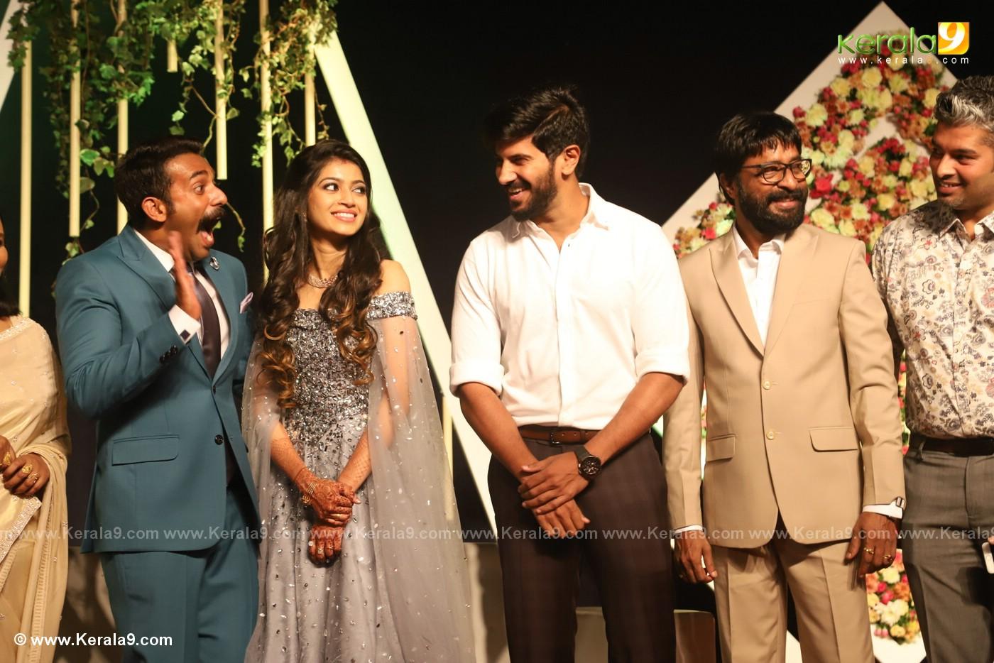 harisree ashokan son wedding reception photos 142
