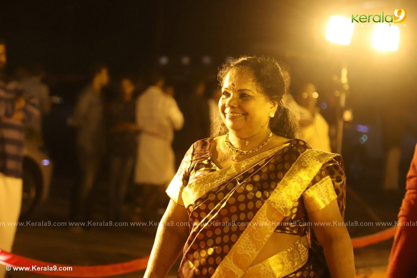 harisree ashokan son wedding reception photos 21