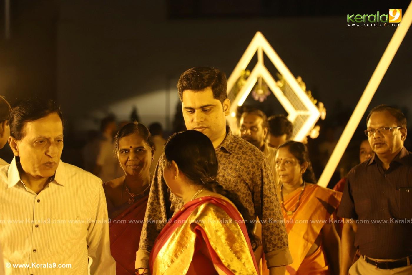 harisree ashokan son wedding reception photos 32