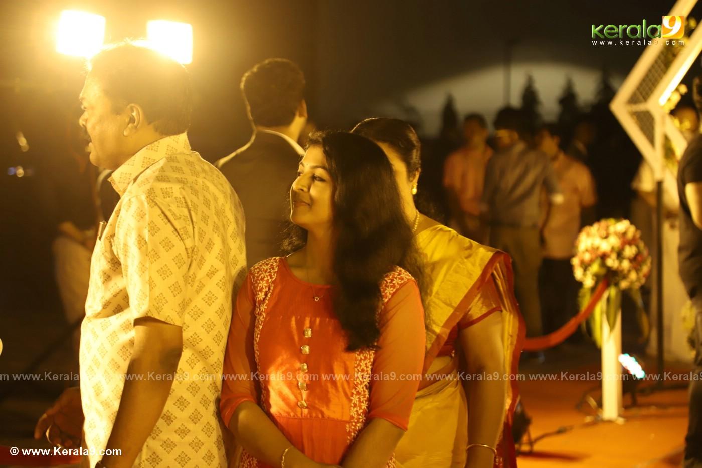 harisree ashokan son wedding reception photos 3