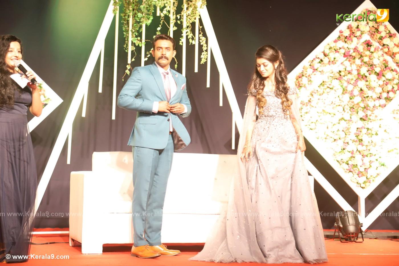 harisree ashokan son wedding reception photos 38