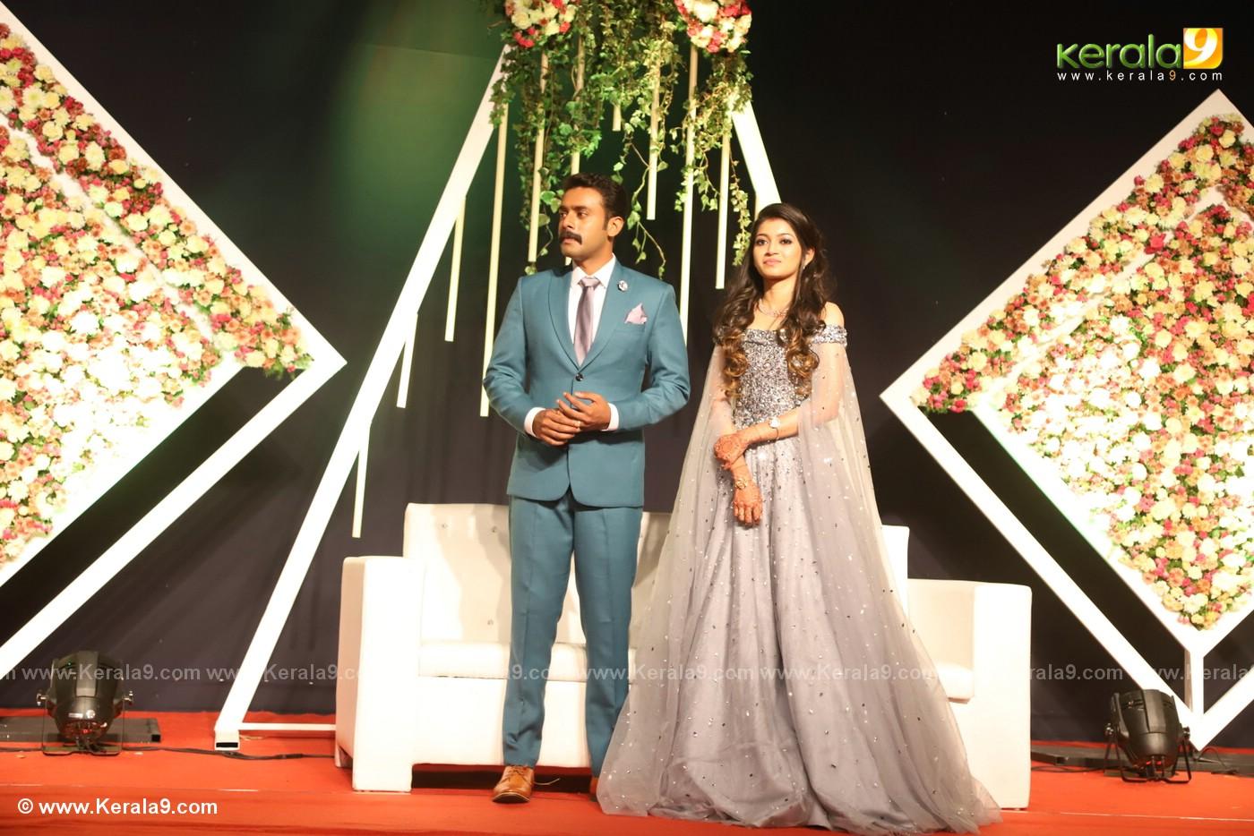 harisree ashokan son wedding reception photos 41