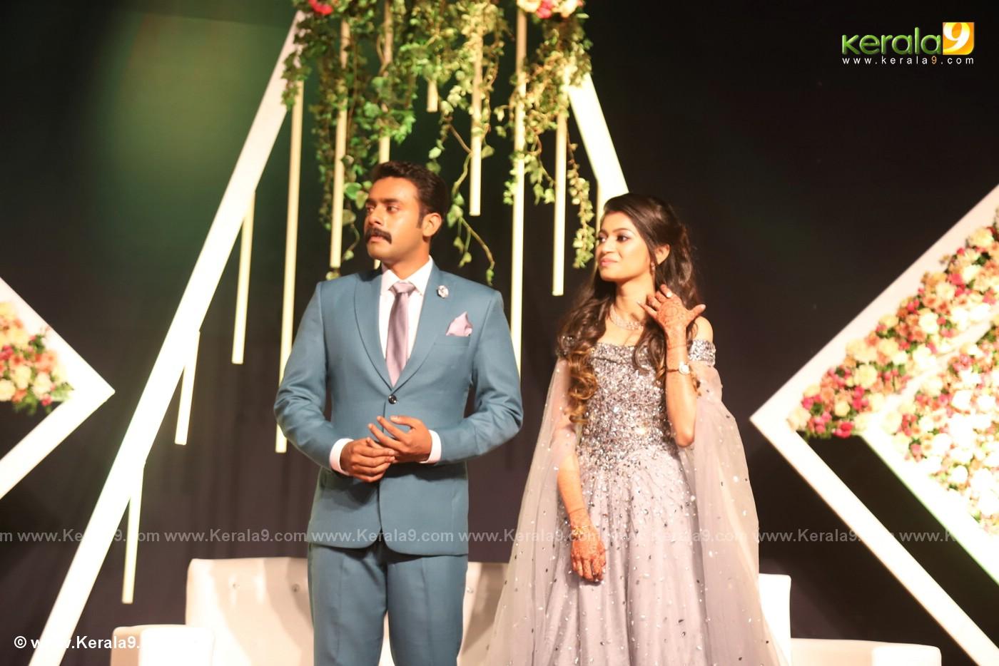harisree ashokan son wedding reception photos 42