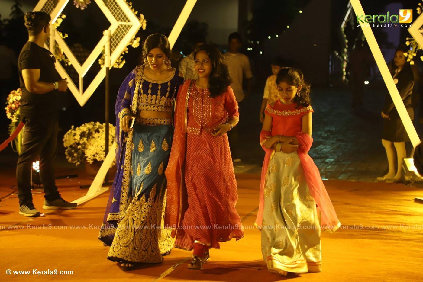 harisree ashokan son wedding reception photos 7