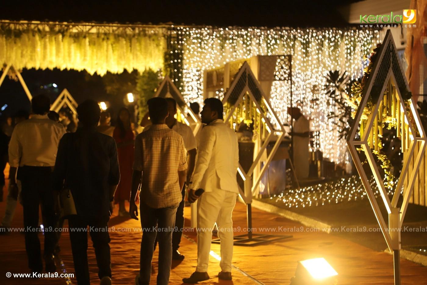 harisree ashokan son wedding reception photos 8