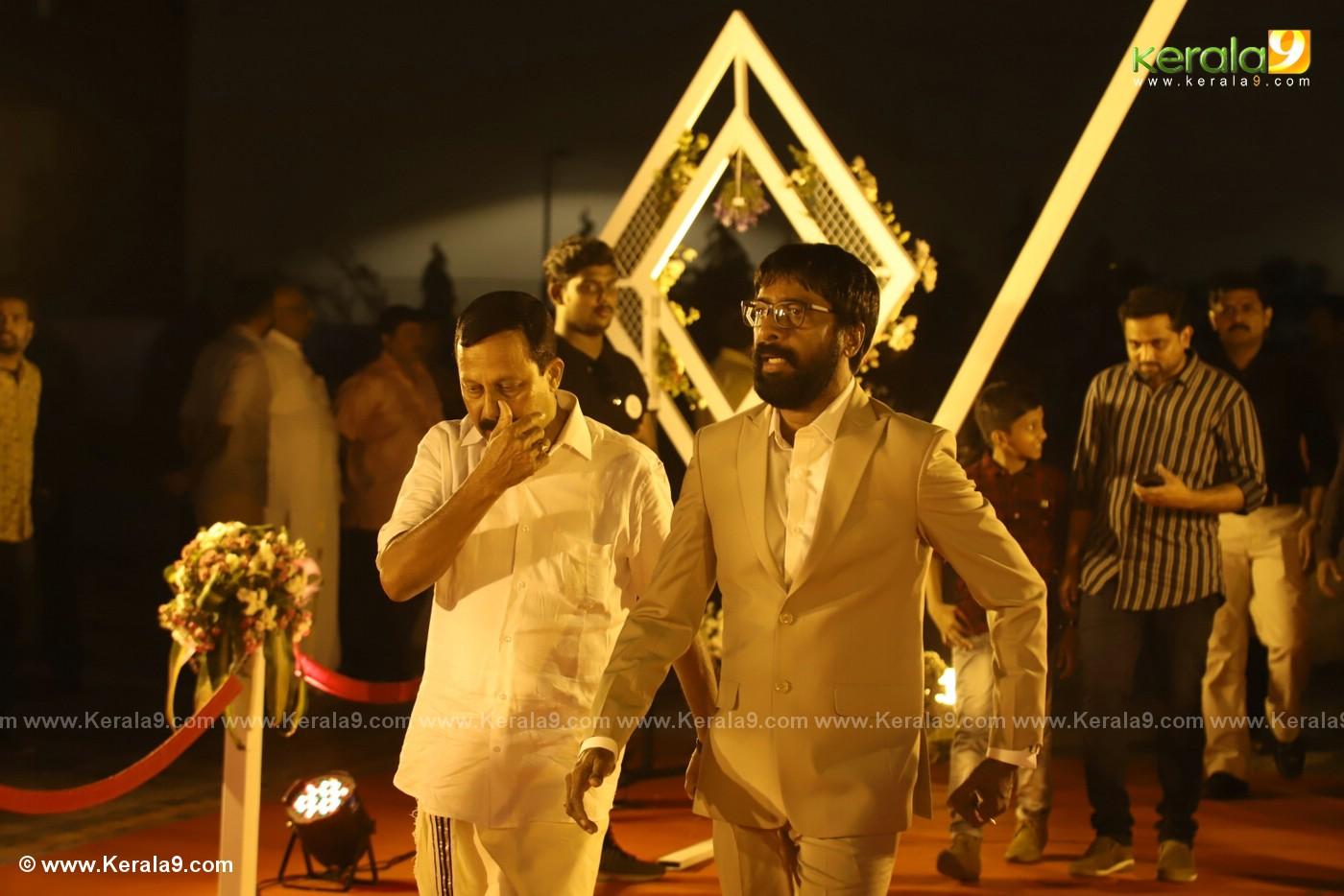harisree ashokan son wedding reception photos 9