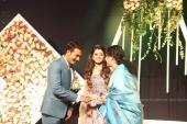 harisree ashokan son wedding reception photos 63