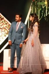 harisree ashokan son wedding reception photos 72