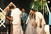 harisree ashokan son wedding reception photos 74