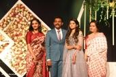 harisree ashokan son wedding reception photos 84