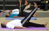 dgp loknath behera at international yoga day 2018 celebration photos 2