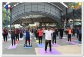 dgp loknath behera at international yoga day 2018 celebration photos