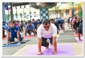 dgp loknath behera at international yoga day 2018 celebration photos 4