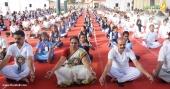 international yoga day 2018 celebration kerala photos 4