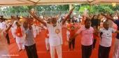 kummanam rajasekharan and o rajagopal at  international yoga day 2018 celebration photos 12