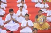international yoga day state inauguration 2016 stills 400 003