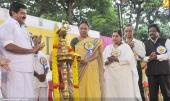 ministers k k shylaja at international yoga day state inauguration 2016 pics 200 003