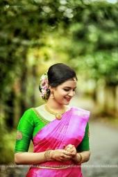 jayaraj warrier daughter engagement photos 003